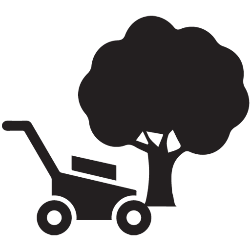 related equipment with yard and garden
